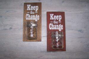 Keep the Change Jars