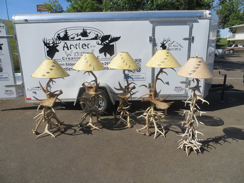 Antler Floor Lamps
