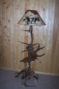 Elk Moose Floor Lamp